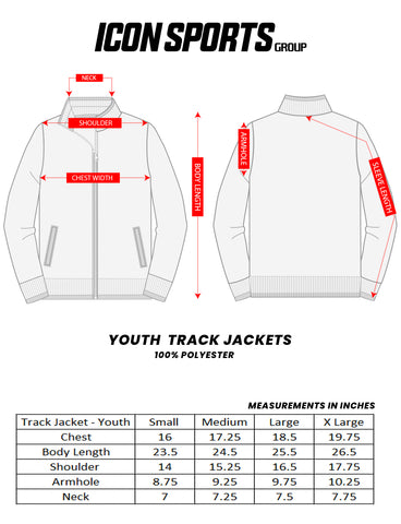 Youth Track Jackets by Icon Sports