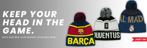 Officially Licensed Soccer Beanies