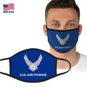 U.S. Air Force Blue Logo Face Covering by Icon Sports