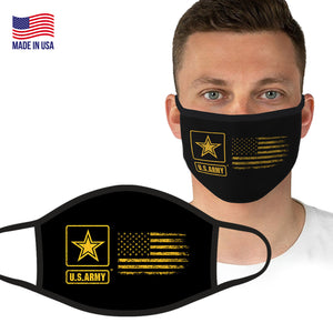 U.S. Army Yellow Flag Face Covering by Icon Sports