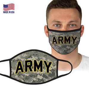 U.S. Army Officially Licensed Face Covering in Digital Camo by Icon Sports