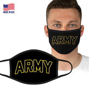 U.S. Army Officially Licensed Face Covering in Black by Icon Sports