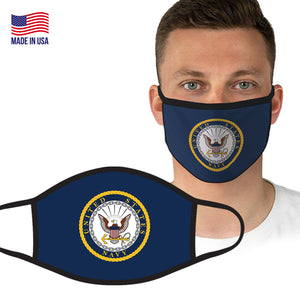 U.S. Navy Flag Logo Face Covering by Icon Sports