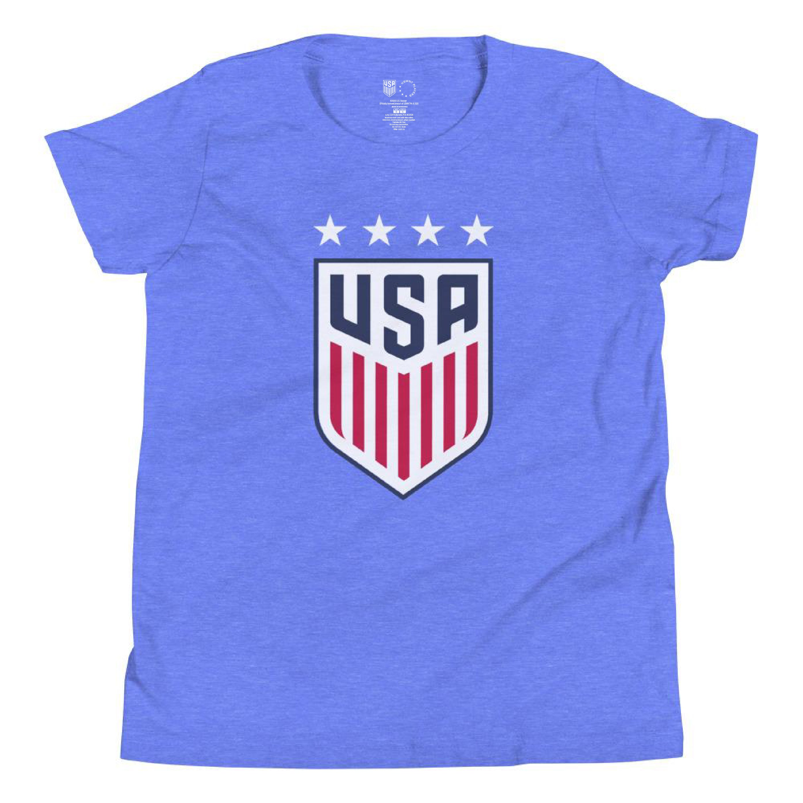 Tiffeny Milbrett 1999 Youth USWNT 4 Star T-Shirt