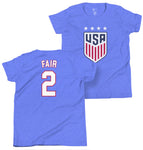 Lorie Fair 1999 Youth USWNT 4 Star T-Shirt