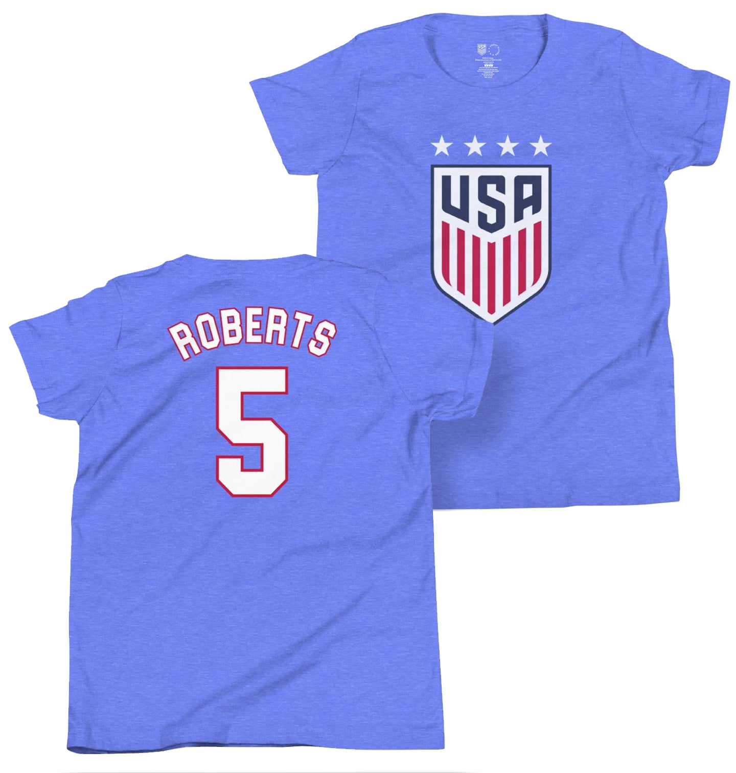 Tiffany Roberts 1999 Youth USWNT 4 Star T-Shirt