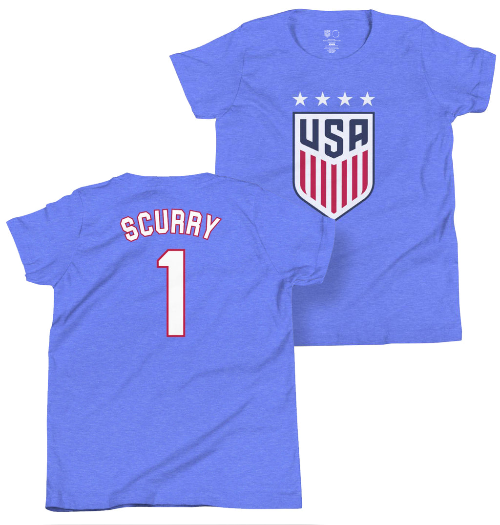 Briana Scurry 1999 Youth USWNT 4 Star T-Shirt