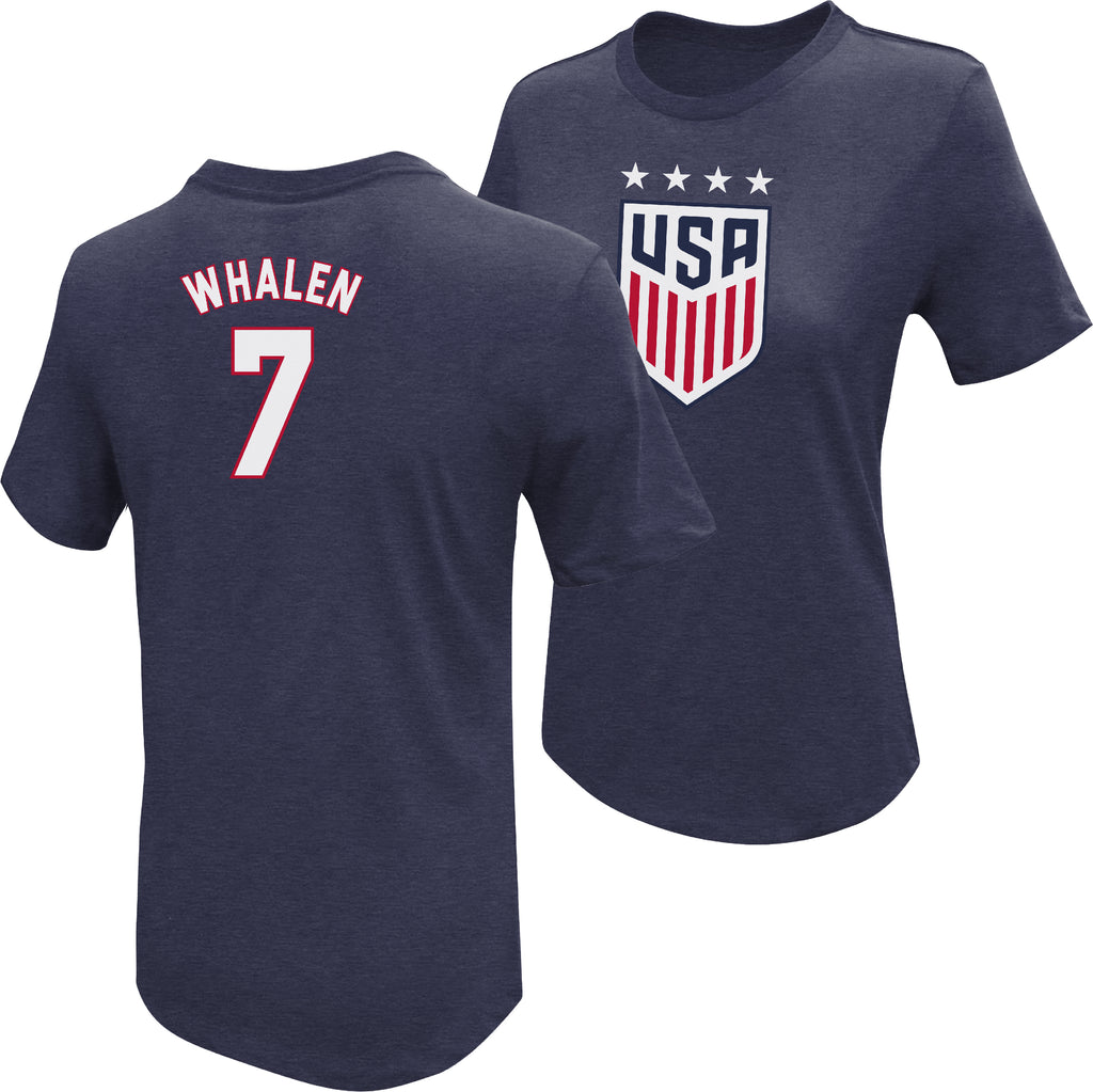 Sara Whalen 1999 USWNT 4 Star T-Shirt by Icon Sports