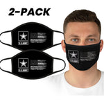 U.S. Army White Flag Face Covering by Icon Sports