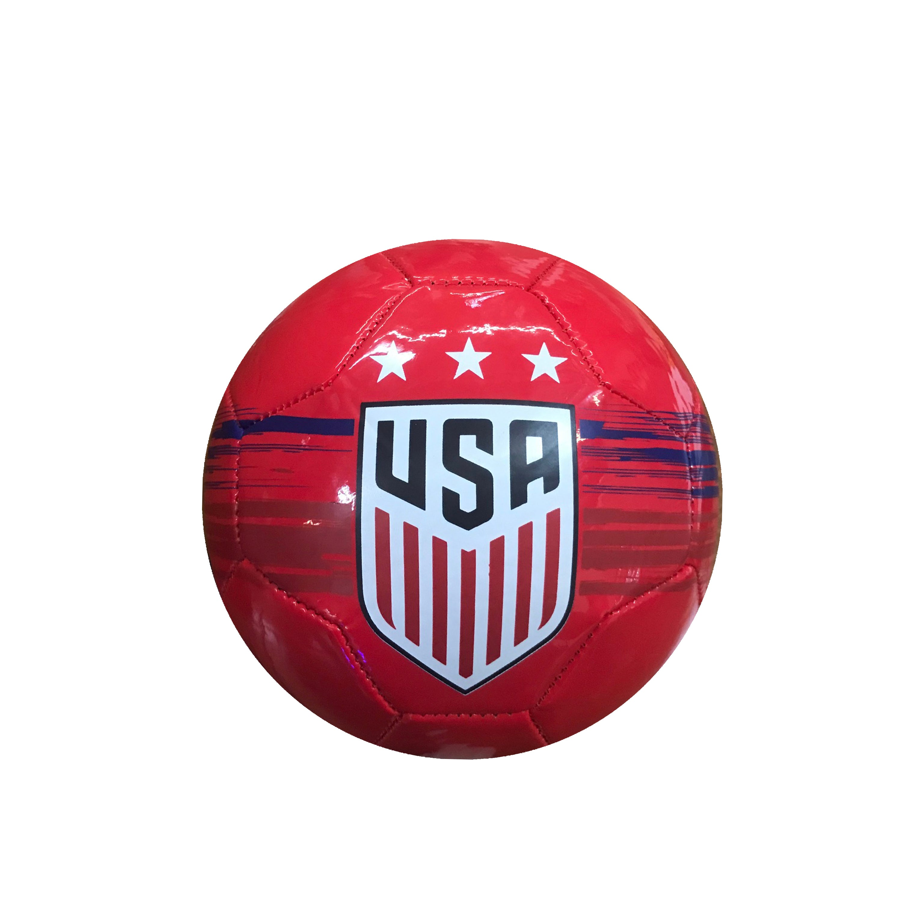 U.S. Soccer USWNT Brush Stroked Size 2 Mini Skill Ball
