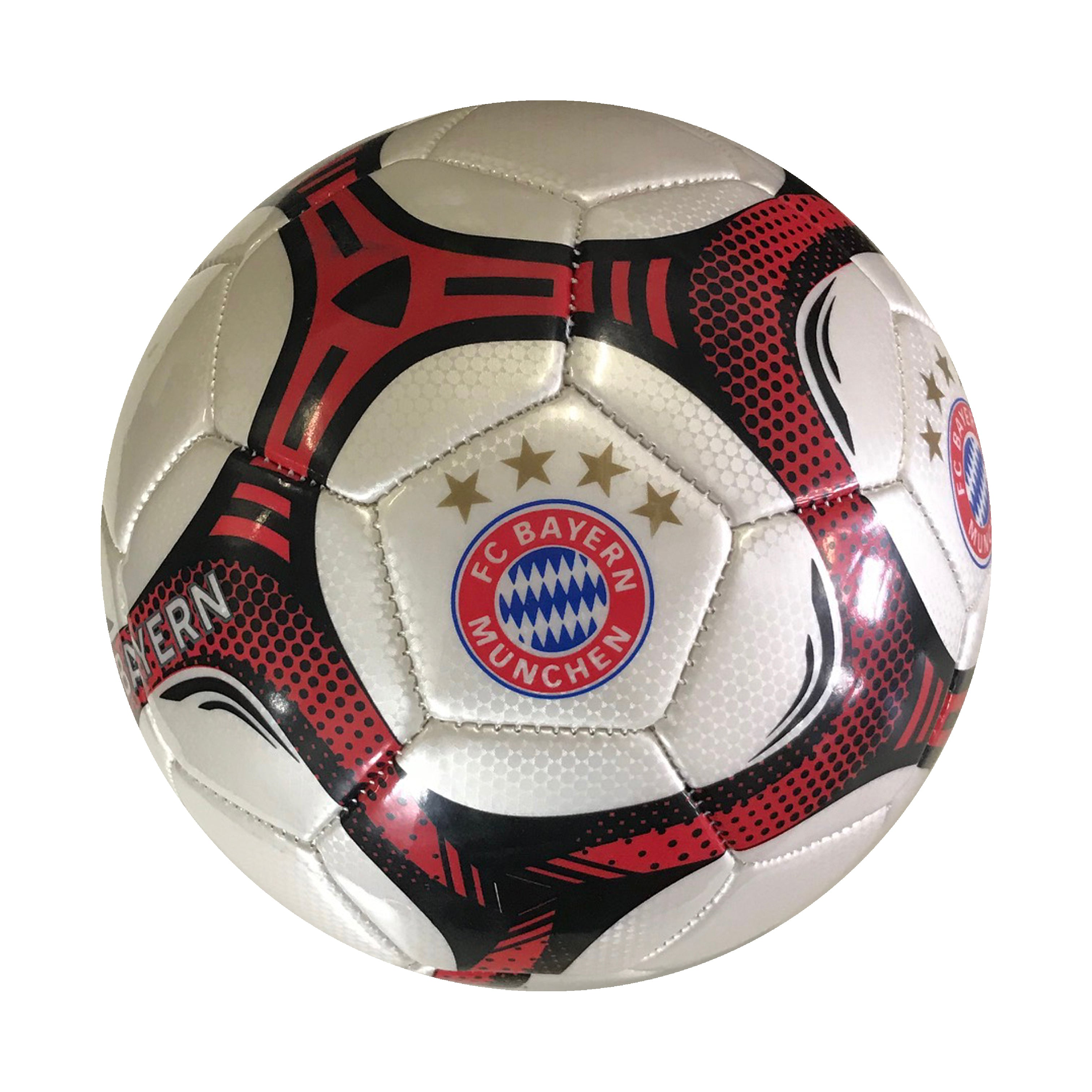 FC Bayern Munich Pearl Commet Size 5 Soccer Ball by Icon Sports
