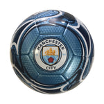 Manchester City Sky Flare Size 5 Soccer Ball