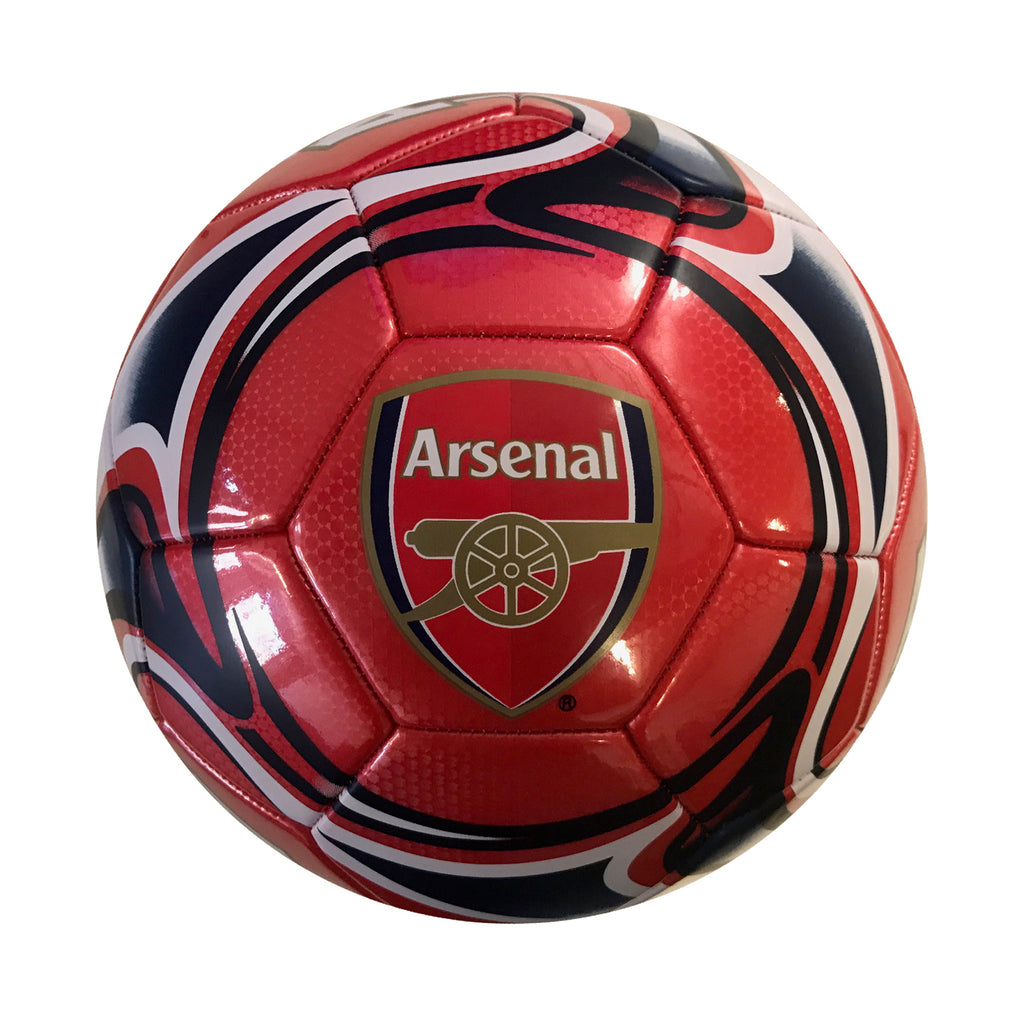 Arsenal Red Flare Size 5 Soccer Ball