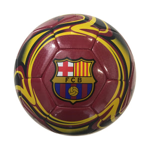 FC Barcelona Red Flare Size 5 Soccer Ball by Icon Sports
