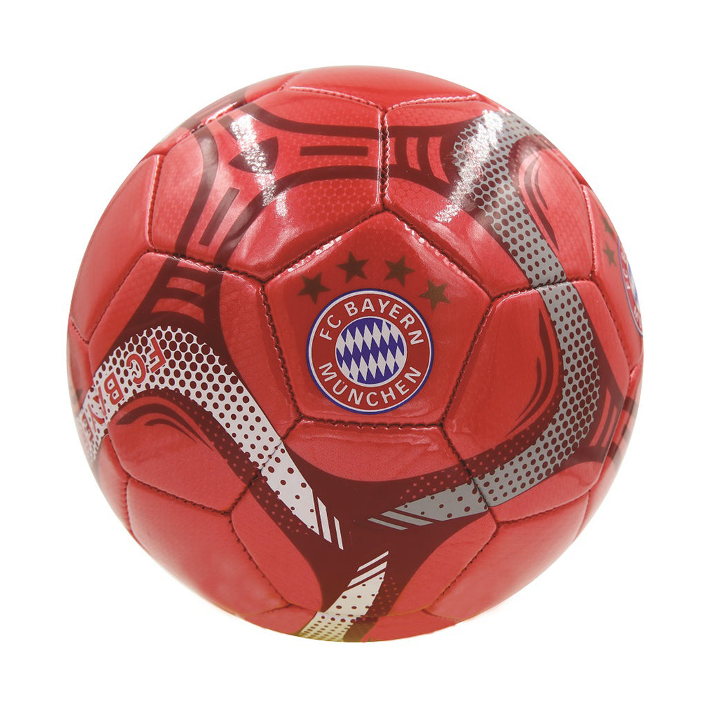 FC Bayern Munich Red Commet Size 5 Soccer Ball by Icon Sports