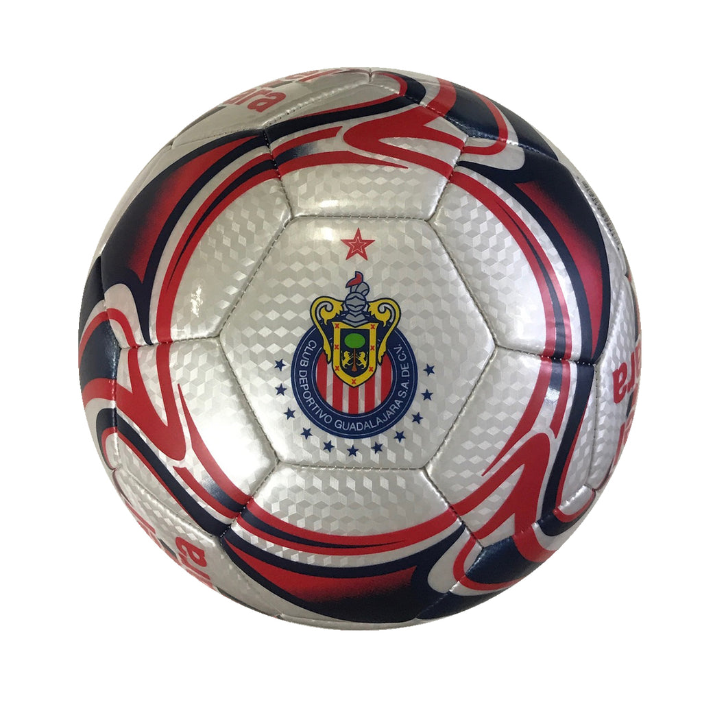 C.D. Guadalajara Pearl Flare Size 5 Soccer Ball by Icon Sports