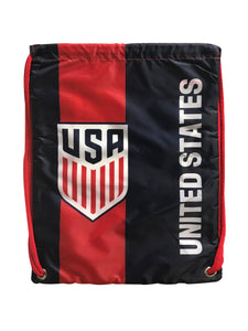 U.S. Soccer Drawstring Cinch Bag by Icon Sports