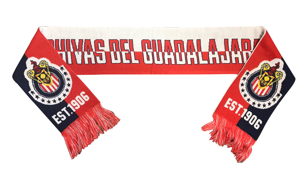 Chivas Est. 1906 Reversible Fan Scarf by Icon Sports