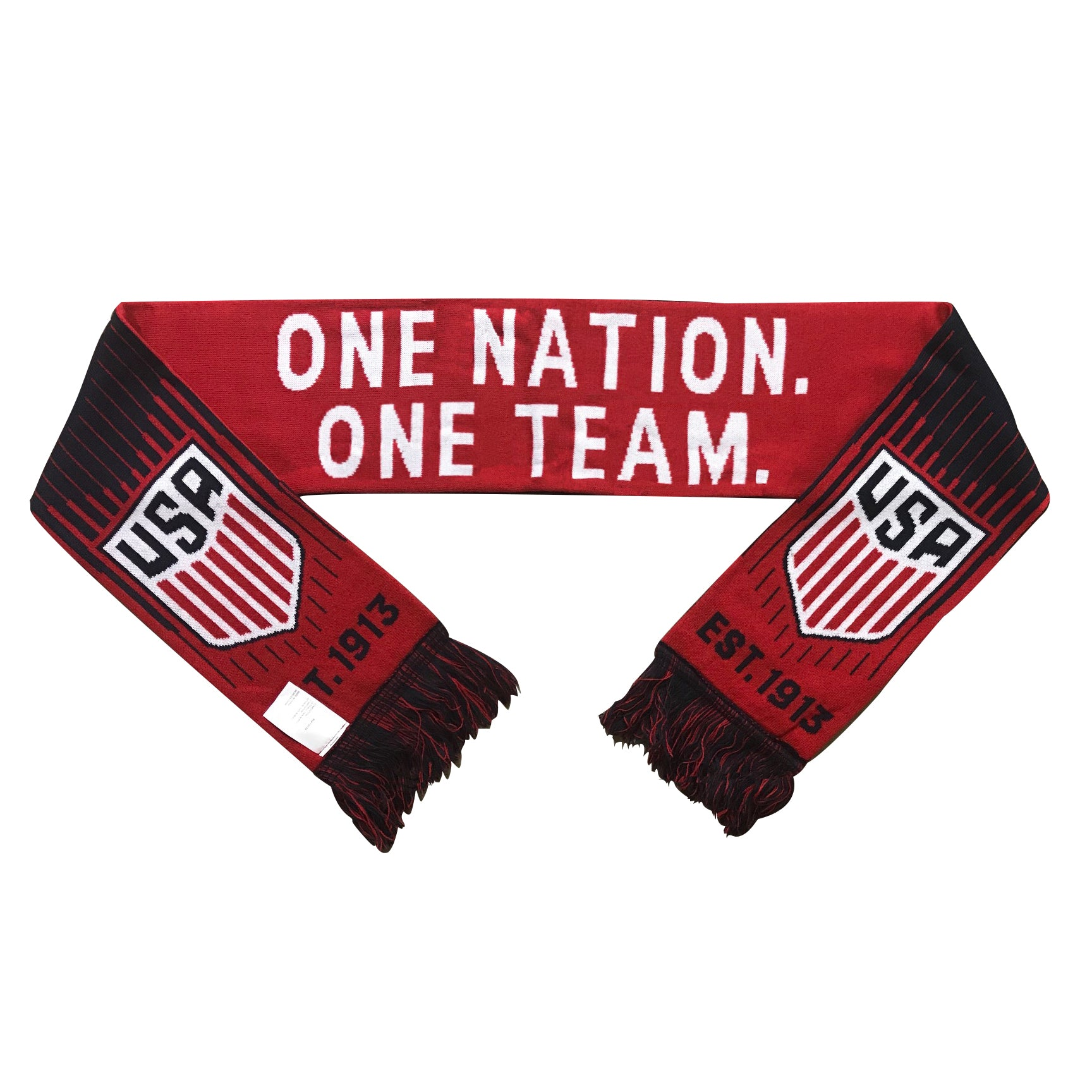 U.S. Soccer One Nation. One Team. Reversible Fan Scarf by Icon Sports