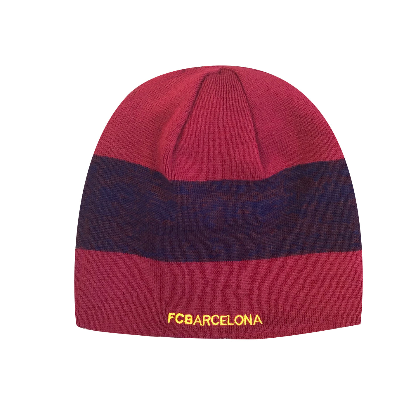 FC Barcelona Reversible Beanie by Icon Sports