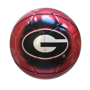University of Georgia Bulldogs Logo Size 5 Soccer Ball by Icon Sports