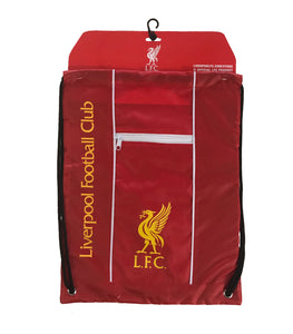 "Liverpool FC ""LFC"" Official Licensed Drawstring Cinch Bag by Icon Sports"