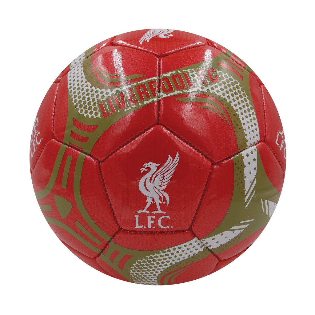 Liverpool FC Red Comet Size 5 Soccer Ball by Icon Sports