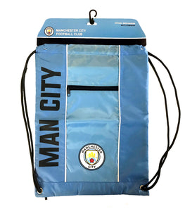 Manchester City FC Drawstring Cinch Bag by Icon Sports