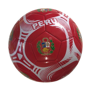 Peru Souvenir Size 5 Soccer Ball by Icon Sports