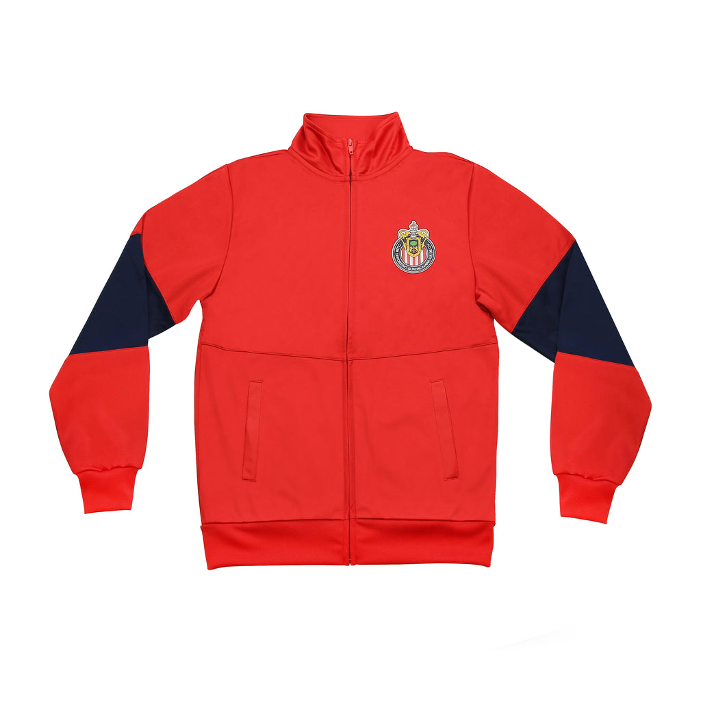 Chivas Del Guadalajara Youth Full-Zip Track Jacket by Icon Sports