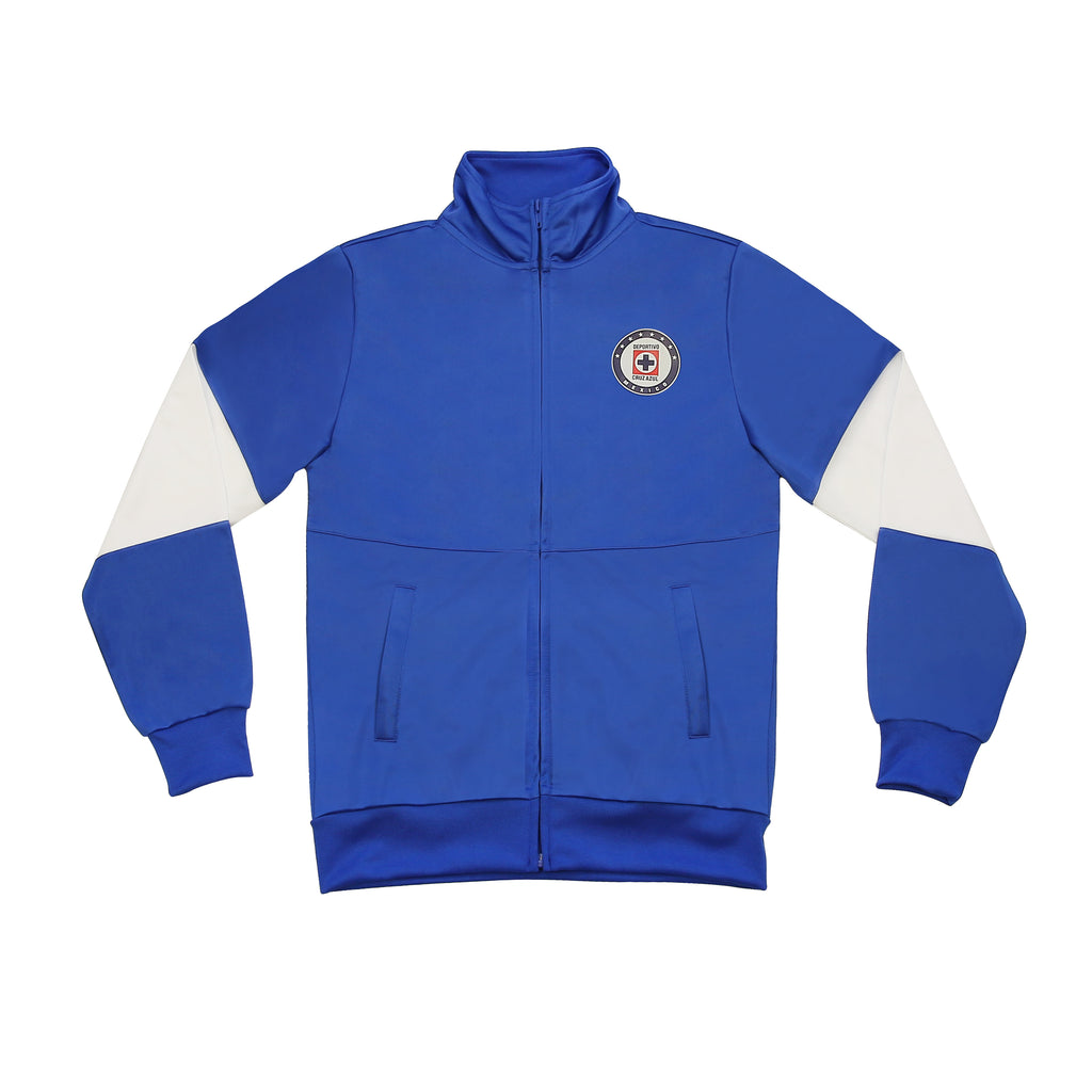 "Cruz Azul Youth Full-Zip ""Color Block"" Track Jacket by Icon Sports"