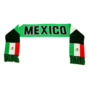 "Mexico ""Facet"" Reversible Fan Scarf by Icon Sports"