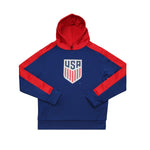 U.S. Soccer Youth Side Step Pullover Hoodie - Navy by Icon Sports