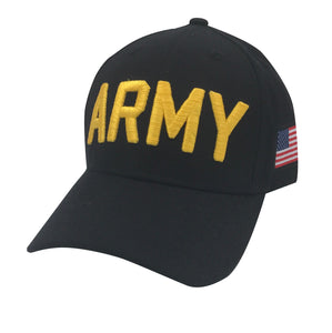 ARMY Acrylic Cap - Black by Icon Sports