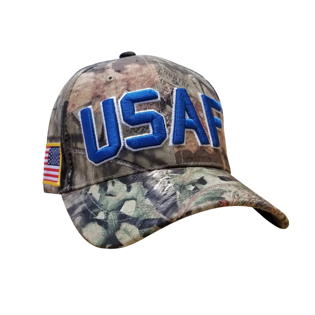 U.S. Air Force x Mossy Oak Break-Up Country USAF Cap by Icon Sports