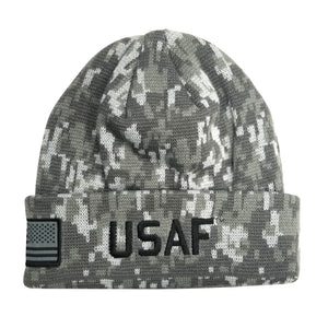 U.S. Air Force Digital Camo Cuffed Beanie