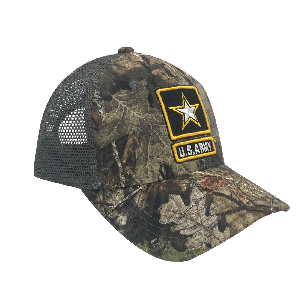 U.S. Army x Mossy Oak Break-Up Country Trucker Cap