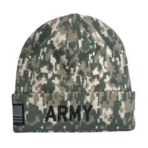 U.S. Army Digital Camo Cuffed Beanie by Icon Sports