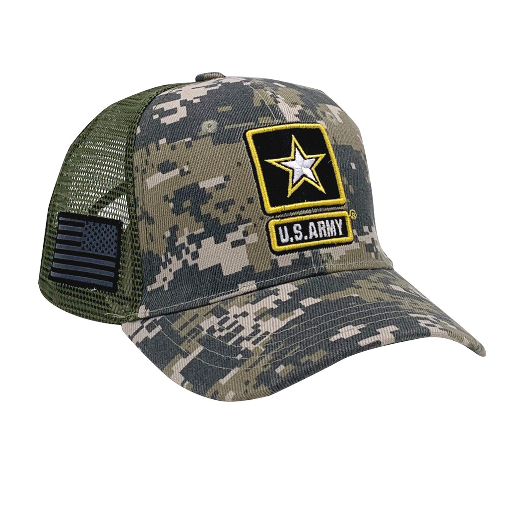 U.S. Army Battle Flag Trucker Cap by Icon Sports