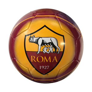 AS Roma Logo Regulation Size 5 Soccer Ball by Icon Sports