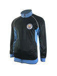 Manchester City FC Men's Full Zip Track Jacket by Icon Sports