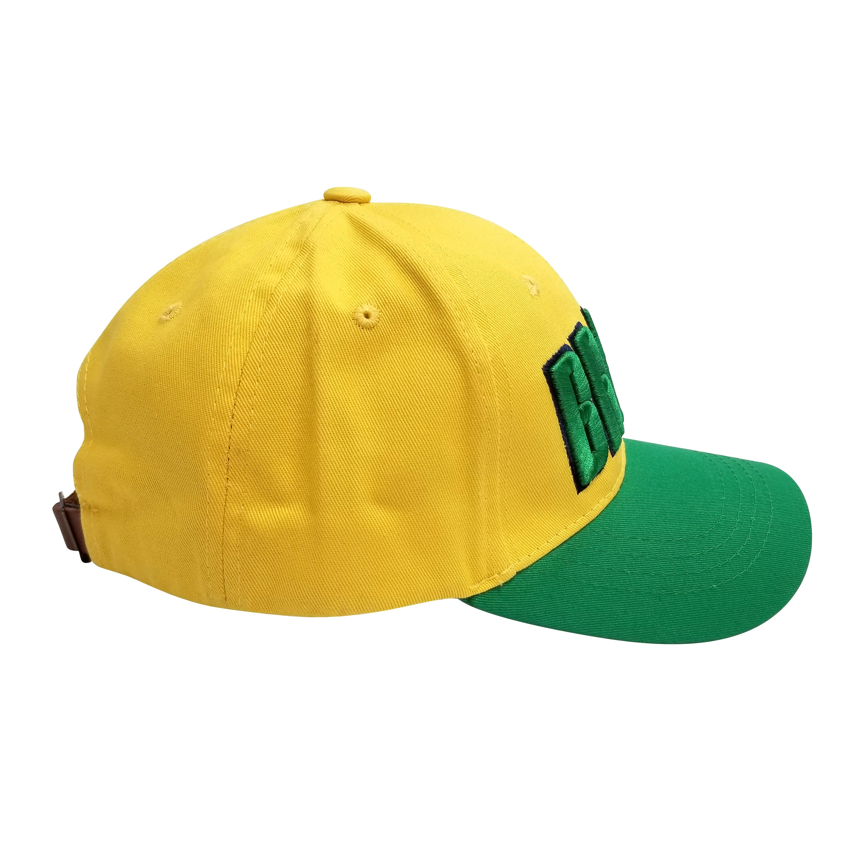 BRASIL 3D Embroidery 6 Panel Structured Cap