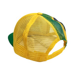 BRASIL Printed 5-Panel Foam Front Trucker Cap