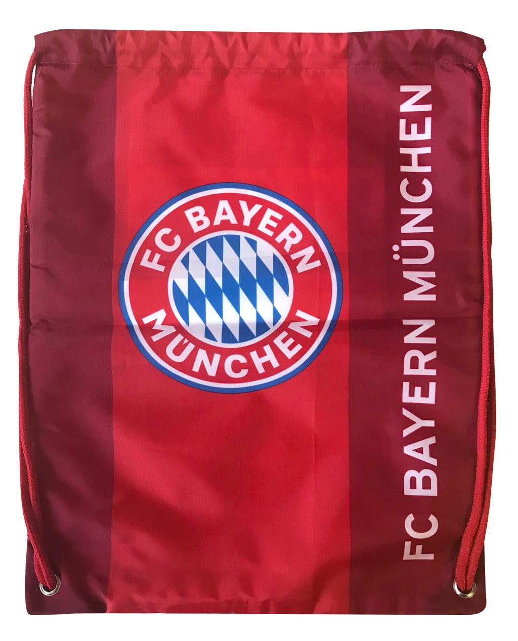 FC Bayern Munich Logo Drawstring Cinch Bag