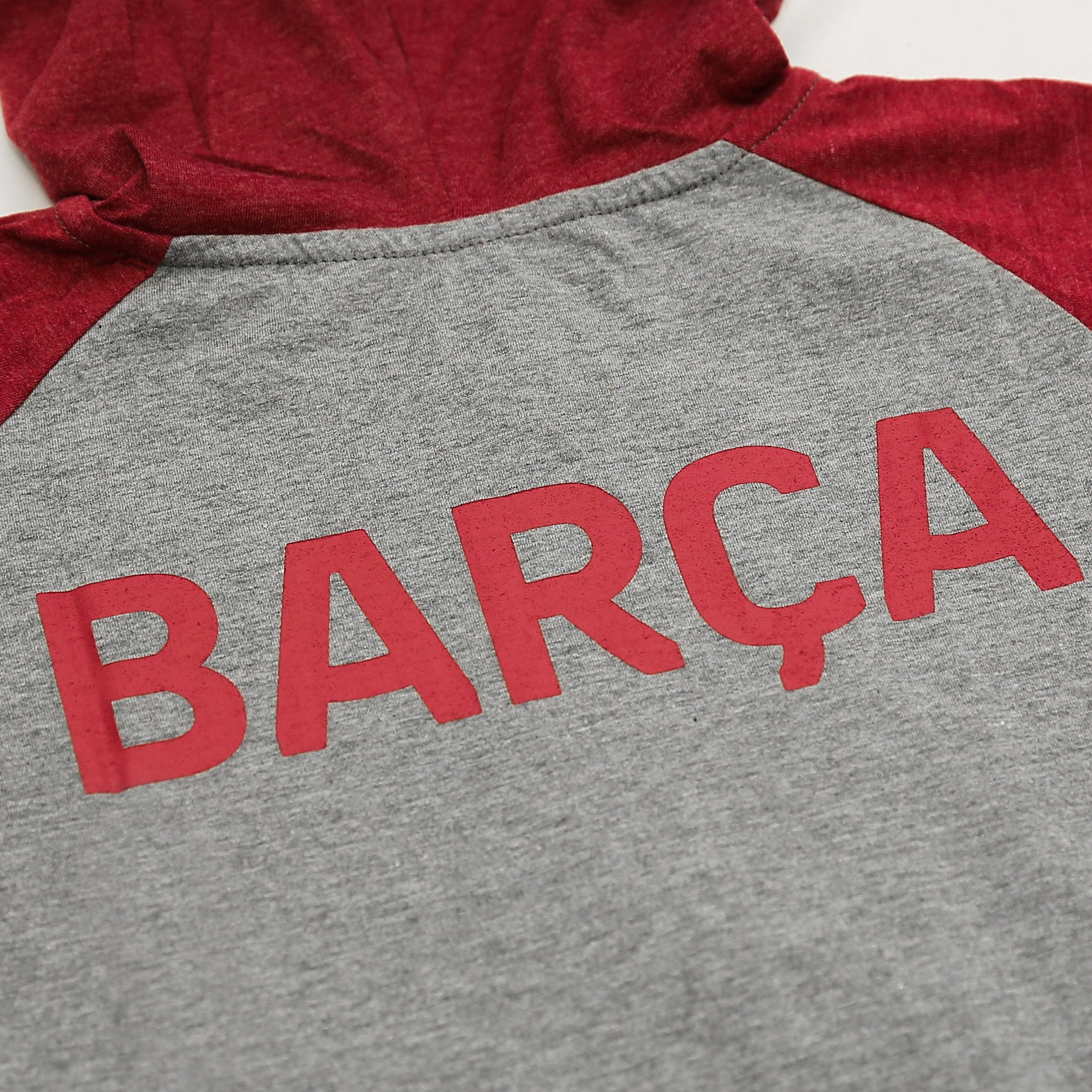 FC Barcelona Youth Lightweight Pullover Hoodie in Navy by Icon Sports