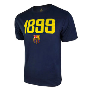 FC Barcelona 1899 T-Shirt - Gold by Icon Sports