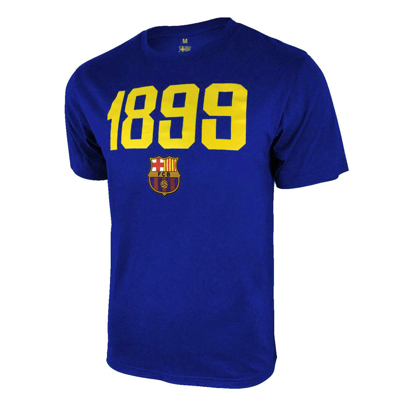 FC Barcelona 1899 T-Shirt - Black by Icon Sports