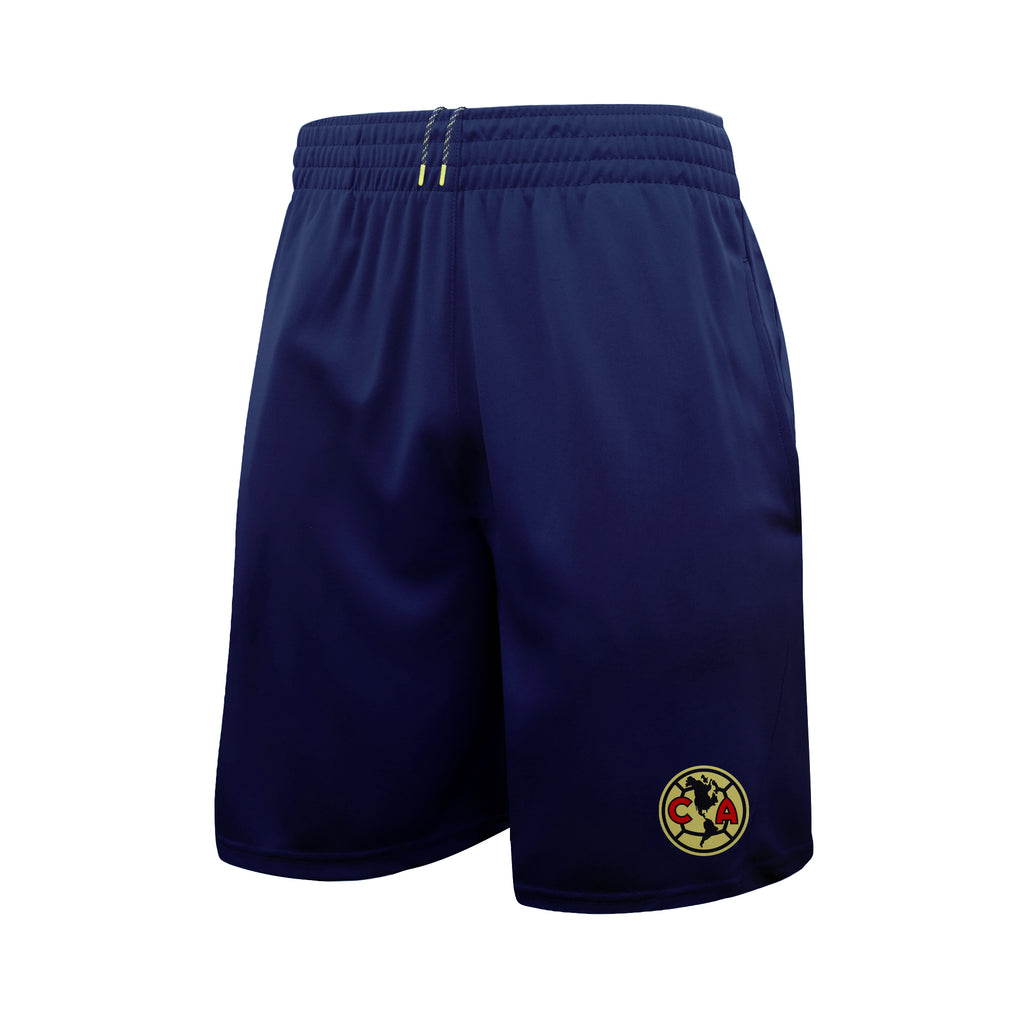 Club América Athletic Soccer Shorts in Navy by Icon Sports