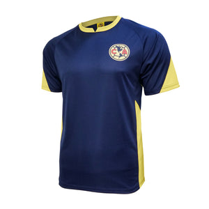 Club América Stadium Class Poly Shirt - Navy
