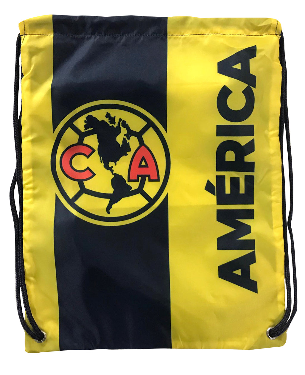 Club América Logo Drawstring Cinch Bag